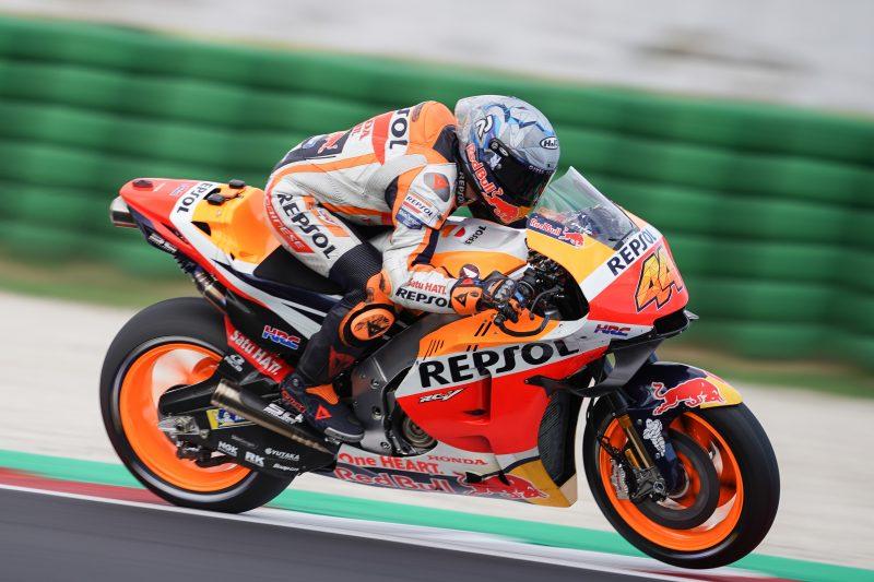 Espargaro and Marquez get to work in weather hit Misano Test