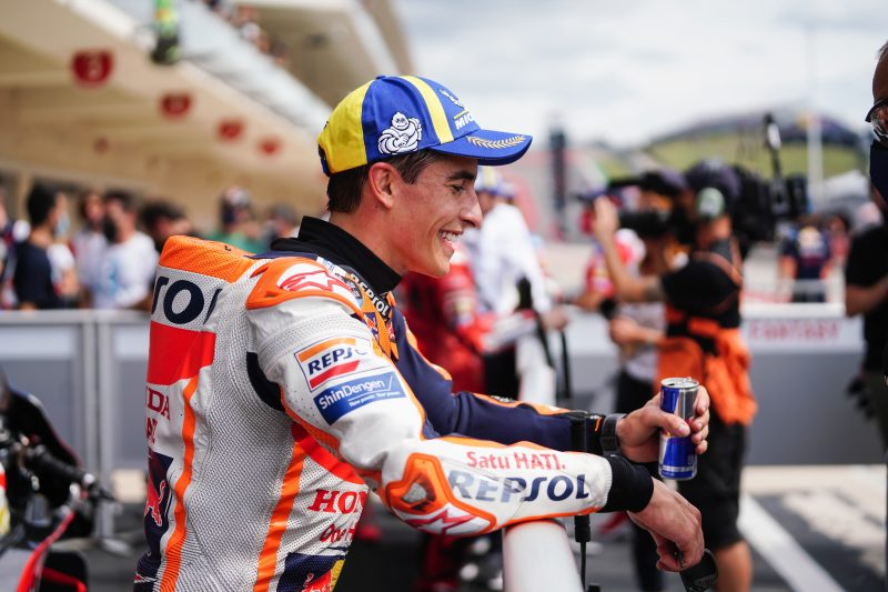 Marquez takes first front row in 441 days